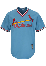 St Louis Cardinals Majestic Coolbase Cooperstown Jersey - Blue