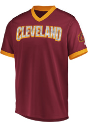 Majestic Cleveland Cavaliers Red Team Glory Jersey