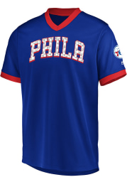 Majestic Philadelphia 76ers Blue Team Glory Jersey