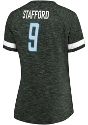Matthew Stafford Detroit Lions Womens Charcoal My Guy Player T-Shirt