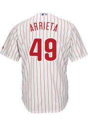 Jake Arrieta Philadelphia Phillies Mens Replica 2019 Home Jersey - White
