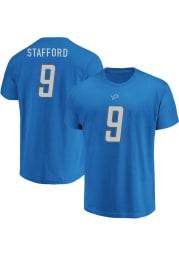 Matthew Stafford Detroit Lions Blue Eligible Receiver Short Sleeve Player T Shirt
