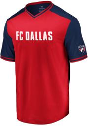 FC Dallas Red Good Graces Short Sleeve T Shirt