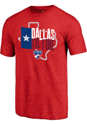 FC Dallas Red Hometown Short Sleeve Fashion T Shirt