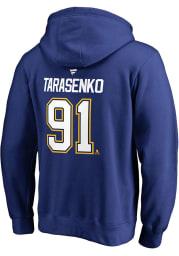 Vladimir Tarasenko St Louis Blues Mens Blue Name And Number Player Hood