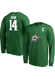 Jamie Benn Dallas Stars Youth Green Name and Number Player Tee