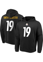 JuJu Smith-Schuster Pittsburgh Steelers Mens Black Name Number Player Hood