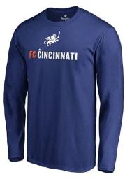FC Cincinnati Blue Victory Arch Long Sleeve T Shirt