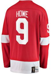 Gordie Howe Detroit Red Wings Mens Red Vintage Breakaway Hockey Jersey