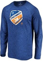 FC Cincinnati Blue Vital To Success Long Sleeve T-Shirt
