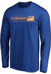 FC Cincinnati Blue Chase Down Long Sleeve T Shirt