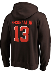 Odell Beckham Jr Cleveland Browns Mens Brown Player Icon Player Hood