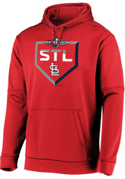 St Louis Cardinals Mens Red Dugout Hood