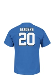 Barry Sanders Detroit Lions Blue Eligible Receiver Short Sleeve Player T Shirt