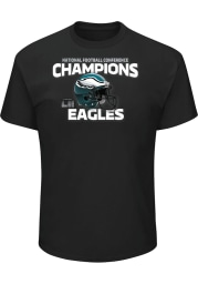 Philadelphia Eagles Black Victory Pride Short Sleeve T Shirt