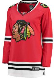 Chicago Blackhawks Womens Breakaway Hockey Jersey - Red
