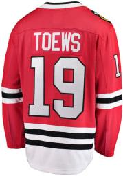 Jonathan Toews Chicago Blackhawks Mens Red Breakaway Hockey Jersey