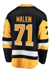 Evgeni Malkin Pittsburgh Penguins Mens Black Breakaway Hockey Jersey