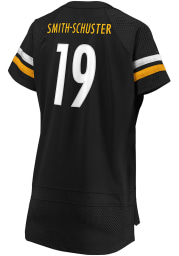 JuJu Smith-Schuster Pittsburgh Steelers Womens Athena Fashion Football Jersey - Black
