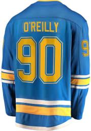 Ryan O'Reilly St Louis Blues Mens Light Blue 2019 Alternate Breakaway Hockey Jersey