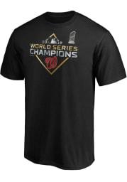 Washington Nationals Black Parade Short Sleeve T Shirt