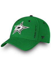 Dallas Stars Mens Green Auth Pro Rinkside Speed Flex Hat