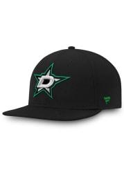 Dallas Stars Mens Black Core Fitted Hat