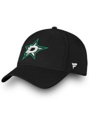 Dallas Stars Mens Black Core Speed Flex Hat