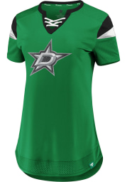 Dallas Stars Womens Athena Fashion Hockey Jersey - Green