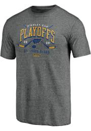 St Louis Blues Grey Goon Short Sleeve Fashion T Shirt