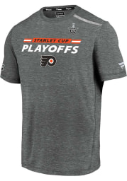 Philadelphia Flyers Grey Clutch Short Sleeve T Shirt