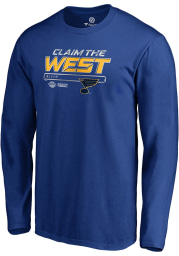 St Louis Blues Blue Crease 2019 Conference Final Long Sleeve T Shirt