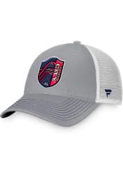 St Louis City SC 2T Trucker Adjustable Hat - Grey