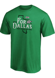 Dallas Stars Kelly Green 2020 Stanley Cup Final Participant Home Ice Short Sleeve T Shirt
