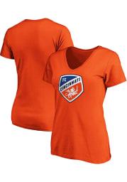 FC Cincinnati Womens Orange Primary Short Sleeve T-Shirt