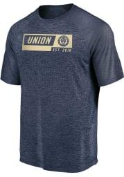 Philadelphia Union Navy Blue Block Short Sleeve T Shirt