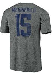 Whit Merrifield Kansas City Royals Grey Name Number Short Sleeve Fashion Player T Shirt