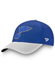 St Louis Blues 2021 Stanley Cup Playoffs Participant Adjustable Hat - Blue