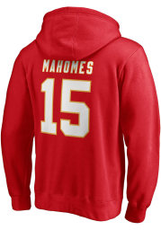 Patrick Mahomes Kansas City Chiefs Mens Red Player Player Hood