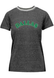 Dallas Ft Worth Womens Grey Ringer Short Sleeve T-Shirt