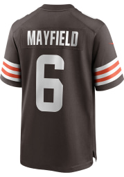 Baker Mayfield Nike Cleveland Browns Brown Home Game Football Jersey