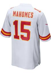 Patrick Mahomes Nike Kansas City Chiefs White Road Game Football Jersey