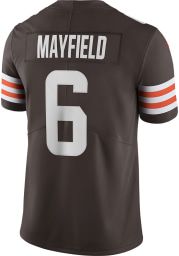 Baker Mayfield Nike Cleveland Browns Mens Brown Home Limited Football Jersey
