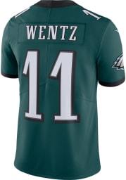 Carson Wentz Nike Philadelphia Eagles Mens Midnight Green Home Limited Football Jersey