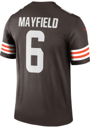 Baker Mayfield Nike Cleveland Browns Brown Home Legend Football Jersey