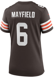 Baker Mayfield Nike Cleveland Browns Womens Brown Home Game Football Jersey