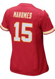 Patrick Mahomes Nike Kansas City Chiefs Womens Red Home Game Football Jersey