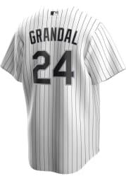 Yasmani Grandal Chicago White Sox Mens Replica 2020 Home Jersey - White