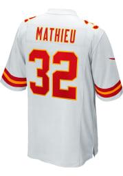 Tyrann Mathieu Nike Kansas City Chiefs White Road Game Football Jersey
