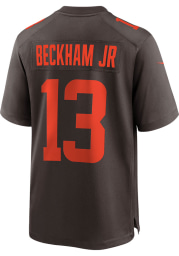 Odell Beckham Jr Nike Cleveland Browns Brown Alternate Football Jersey